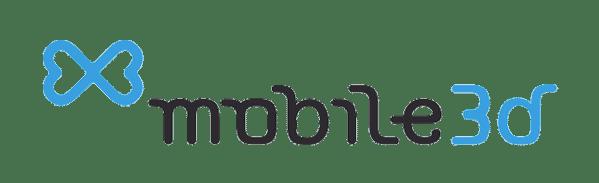 mobile 3d logo